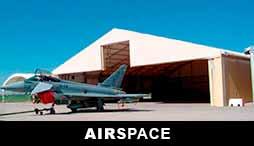 AIRSPACE - HANGARS MÉTALLIQUE POUR AVION