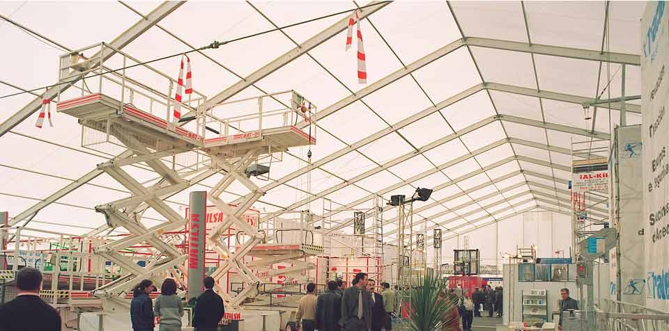 Chapiteaux industrielles - Ecospace