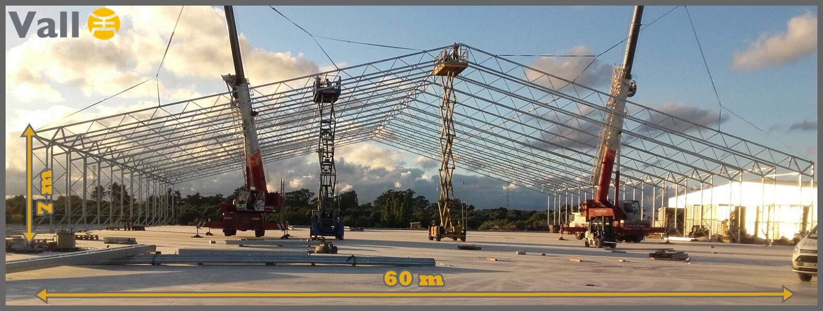 Hangar démontable MEGA-STOCK