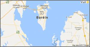 mapa bahrein