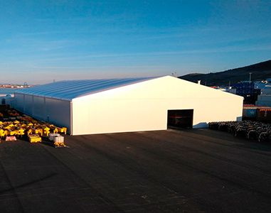 AluSpace - Bâtiments industriels démontables en aluminium