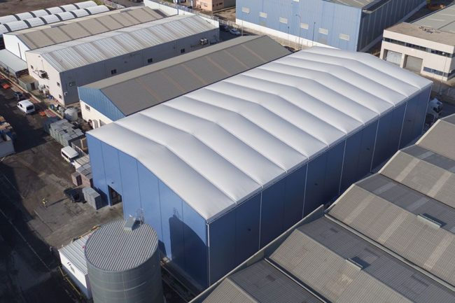 The advantages of steel in removable industrial buildings