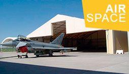 AirSpace - structures démontables pour avions et aéroports
