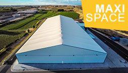 MaxiSpace - bâtiments industriels démontables en acier