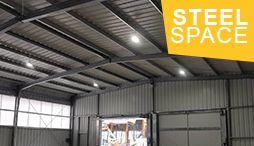 SteelSpace - bâtiments métalliques préfabriqués