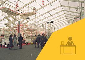 Bâtiments modulaires tentes industrielles - BÂTIMENT D'EXPOSITION
