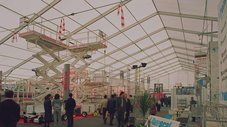 Bâtiments démontables tentes industrielles - EcoSpace - Chapiteaux industriel et chapiteau stockage