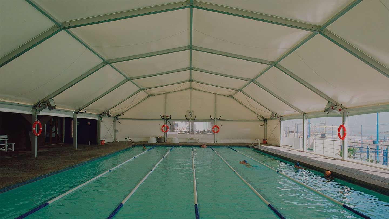 Bâtiments démontables tentes industrielles - SportSpace - Salles sportives en acier, aluminium ou bois