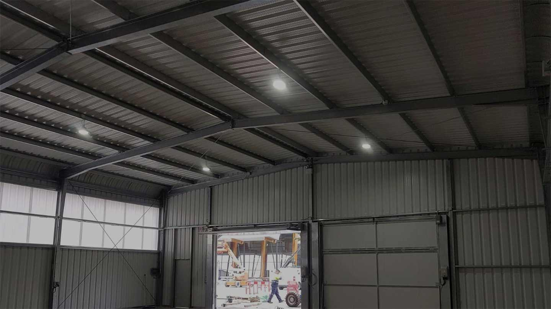 Bâtiments démontables tentes industrielles - SteelSpace Bâtiments métalliques préfabriqués