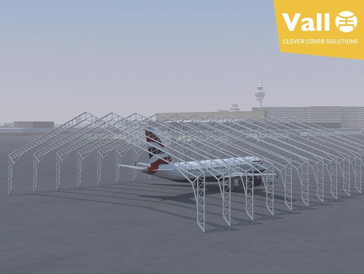 hangars démontables pour avions: la solution en temps de crise