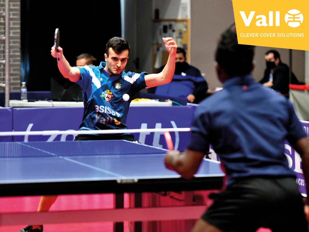 Asisa Borges Vall atteint la phase finale de la Coupe d'Europe 2020/21 de tennis de table